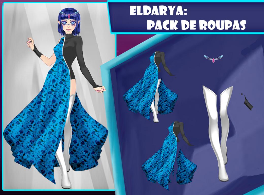 Eldarya----Pack de roupa 23 by Helyra