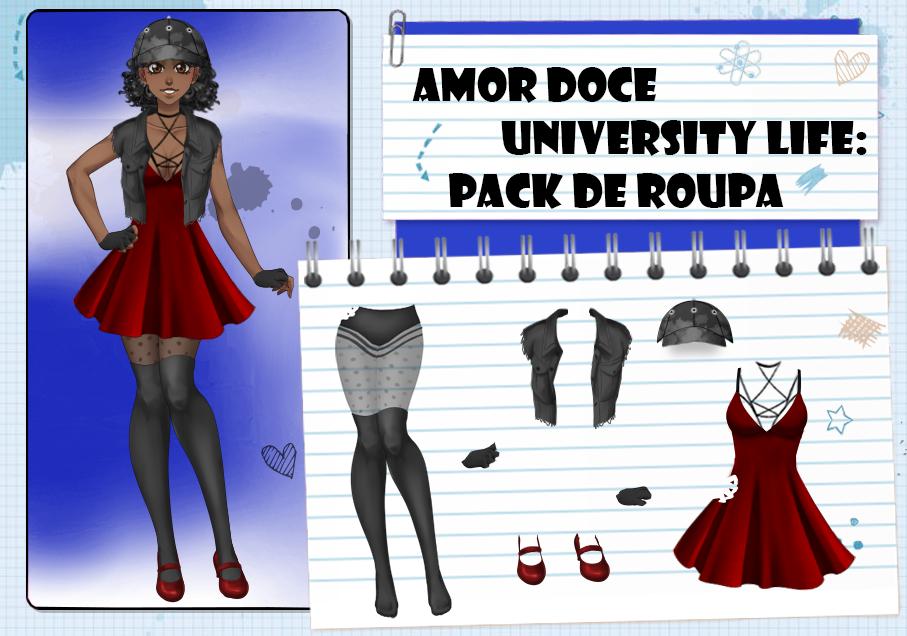 Amor Doce UL--Pack de roupas 15 by Helyra