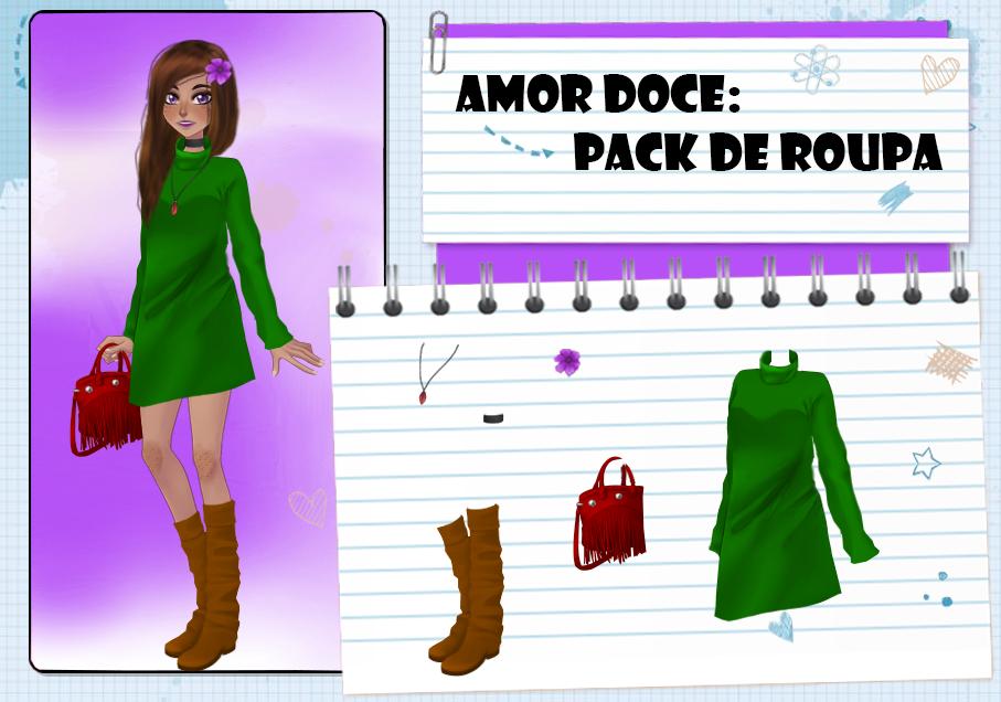 Amor Doce--Pack de roupas 80 by Helyra