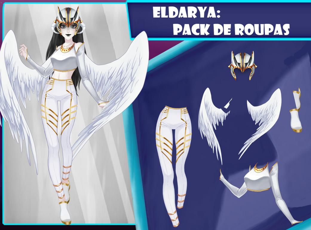 Eldarya----Pack de roupa 26 by Helyra