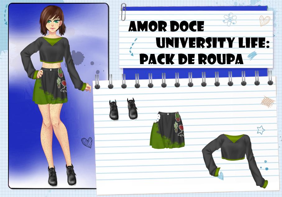 Amor Doce UL--Pack de roupas 25 by Helyra