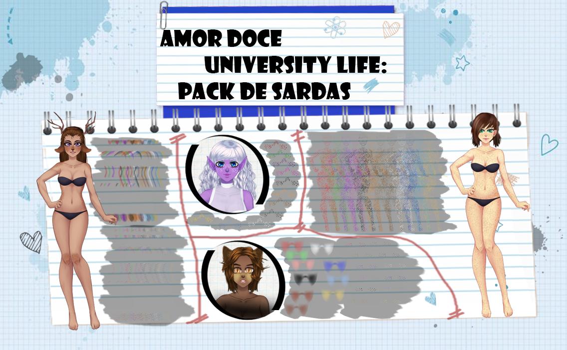 Amor Doce UL--Pack de sardas (+ blush) by Helyra