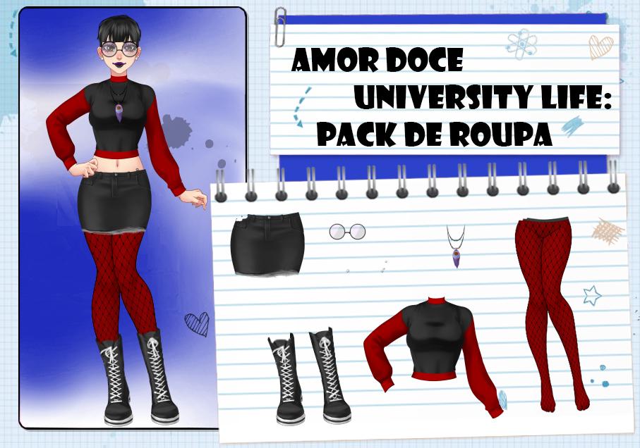 Amor Doce UL--Pack de roupas 26 by Helyra