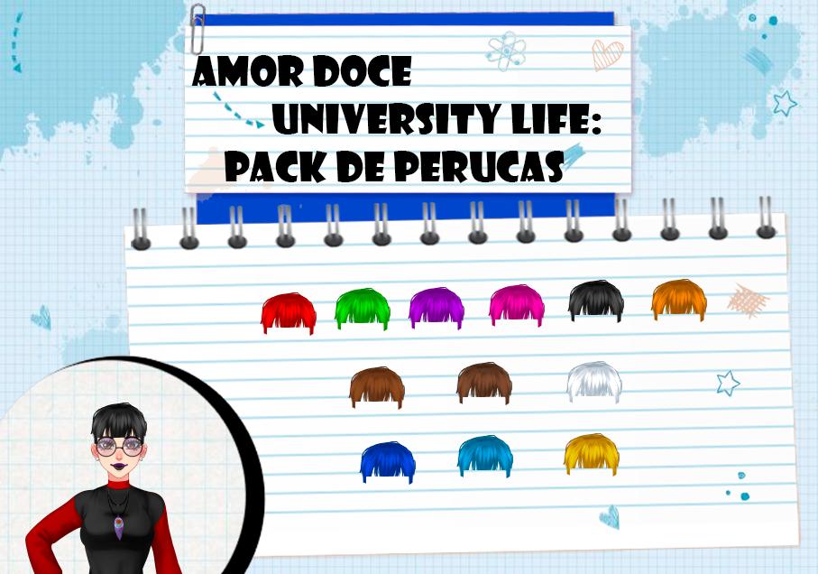 Amor Doce UL--Pack de perucas 10 by Helyra