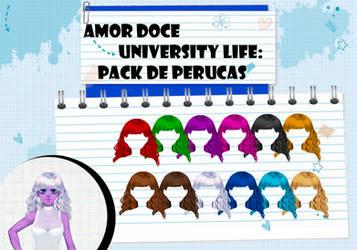 Amor Doce UL--Pack de perucas 12 by Helyra