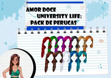 Amor Doce UL--Pack de perucas 13 by Helyra
