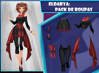 Eldarya----Pack de roupa 30 by Helyra