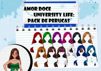 Amor Doce UL--Pack de perucas 14 by Helyra
