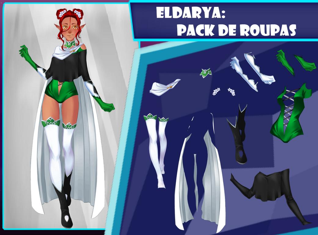 Eldarya----Pack de roupa 31 by Helyra