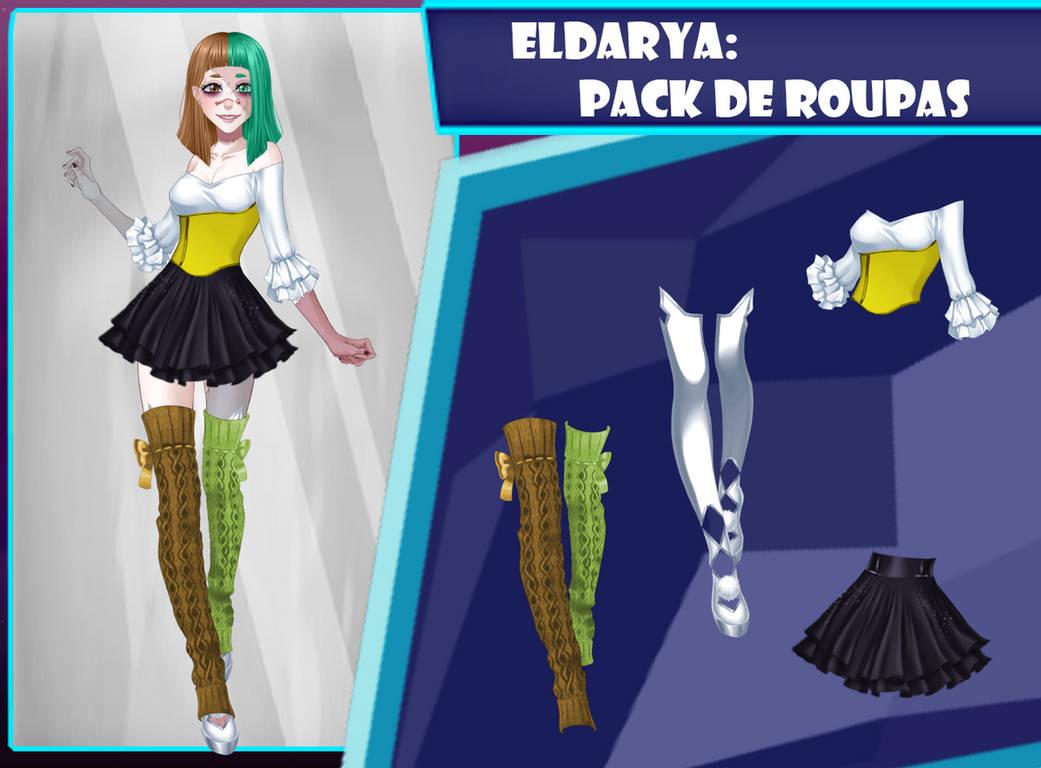 Eldarya----Pack de roupa 32 by Helyra