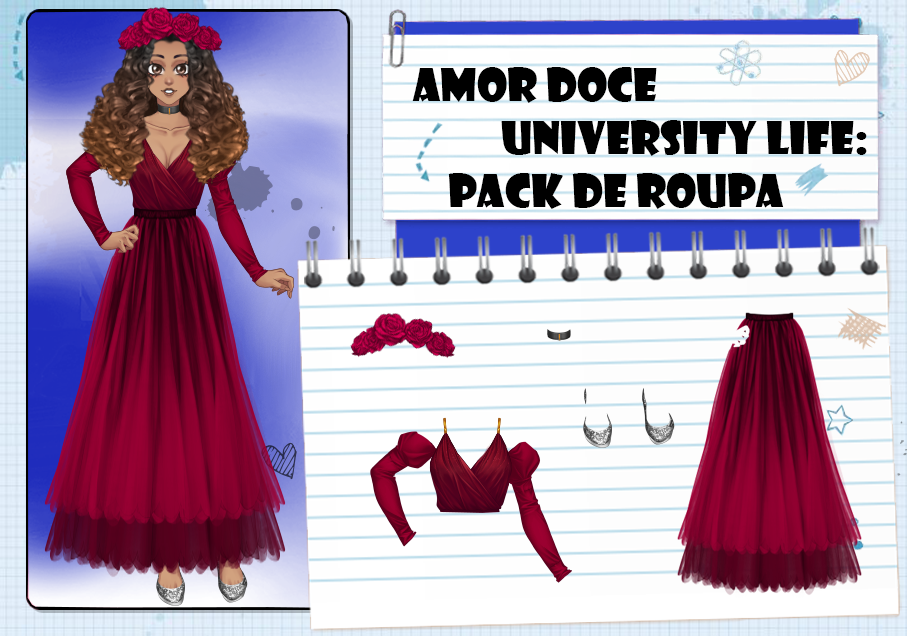 Amor Doce UL--Pack de roupas 40 by Helyra