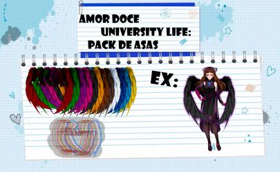 Amor Doce UL--Pack de asas by Helyra