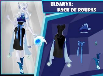 Eldarya----Pack de roupa 33 by Helyra