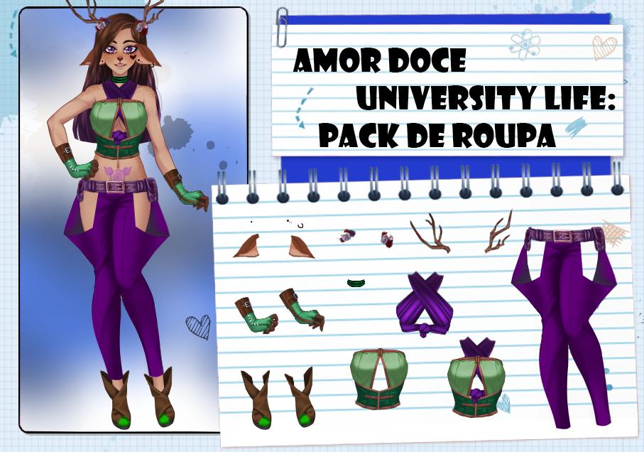 Amor Doce UL--Pack de roupas 41 by Helyra