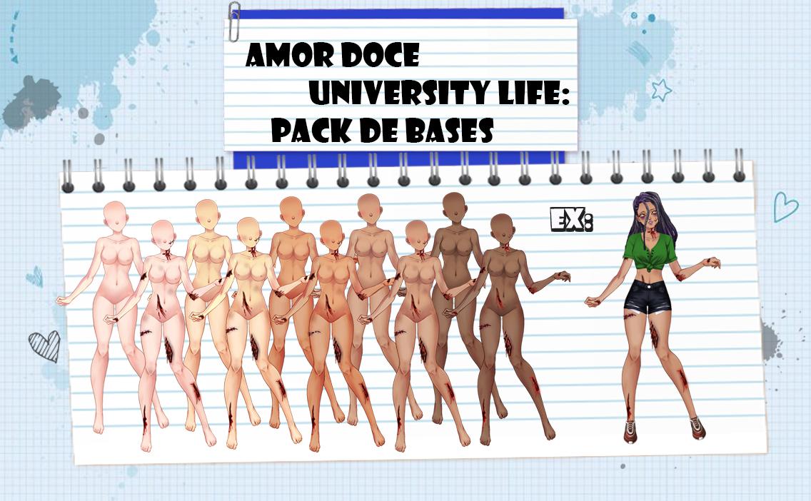 Amor Doce UL--Pack de Bases 7 by Helyra