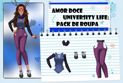 Amor Doce UL--Pack de roupas 44