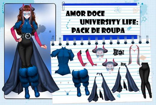 Amor Doce UL--Pack de roupas 46