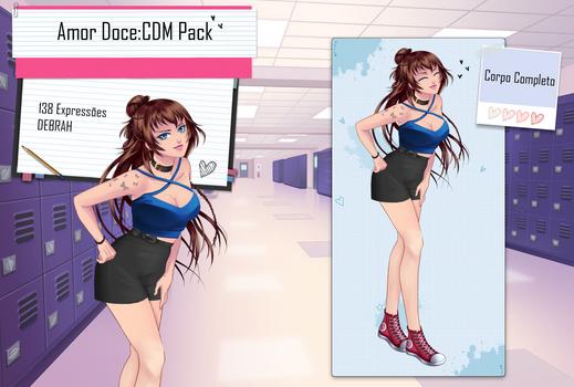 Debrah--Amor Doce--CDM Pack 5