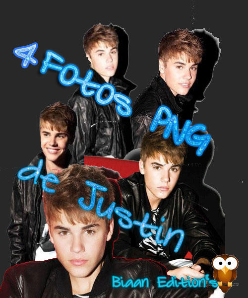 Pack de fotos PNG de Justin Bieber by BiaanD