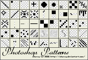 45 simple patterns by chussy