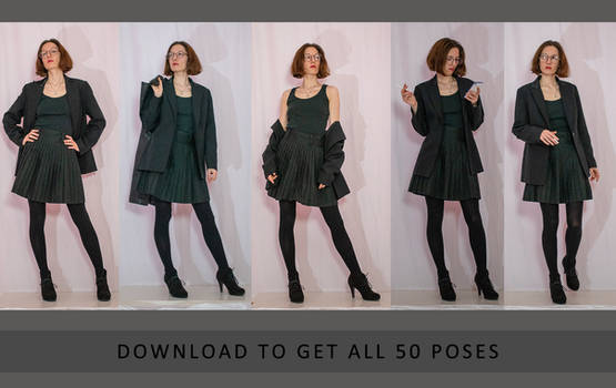Character Poses - Annabelle - Part 1 (50 poses)