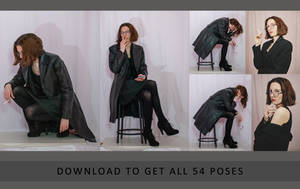 Character Poses - Annabelle - Part 2 (54 poses)