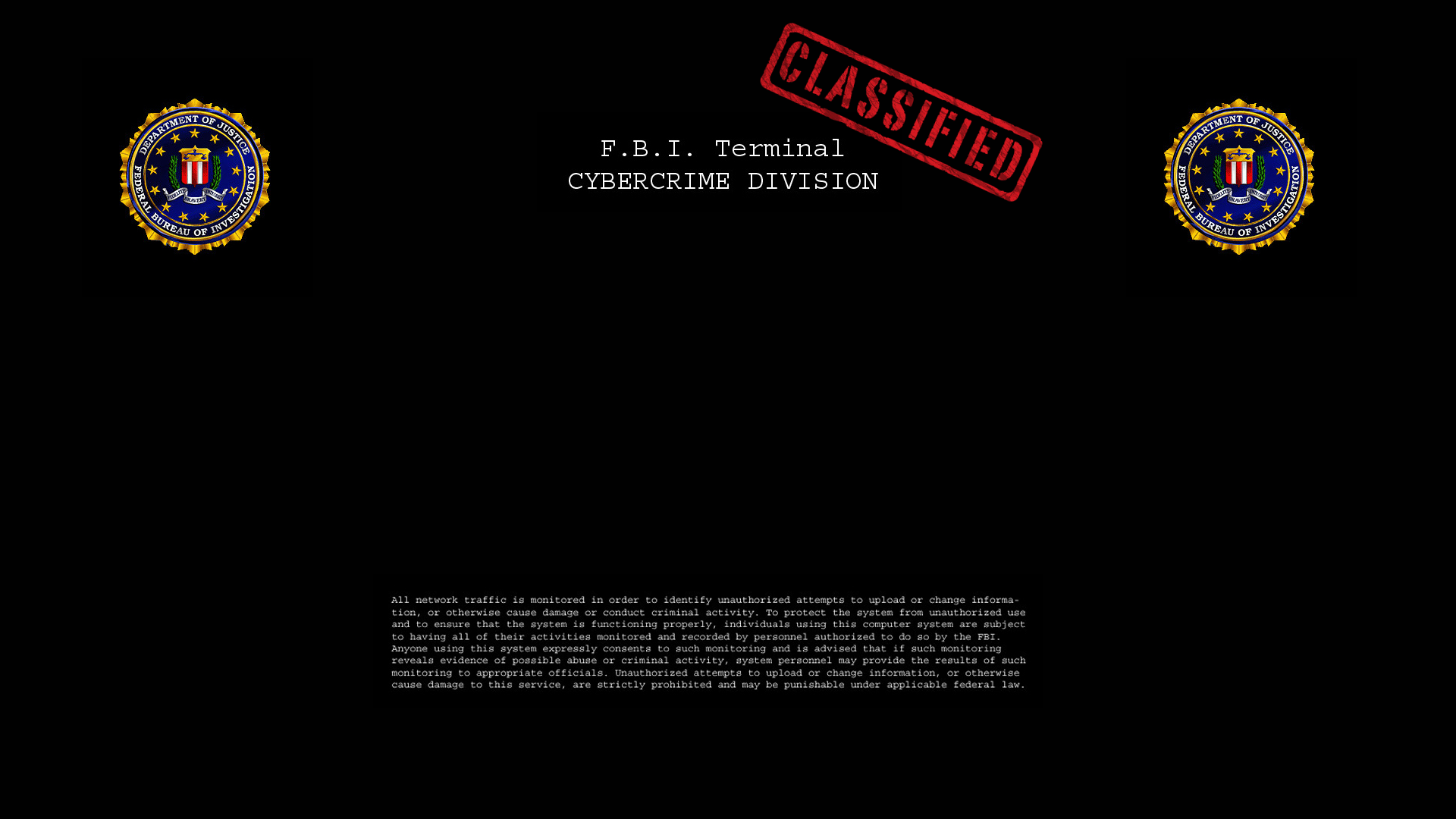 fbi cybercrime logon 1080p by w1ck3dmatt on deviantart