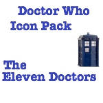 DOCTOR WHO APPLICATION ICONS by ILoveCarlisleCullen