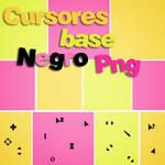Cursores Base Negro Png
