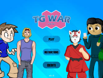 TG War 2016 - The Fighting Game by undercoversam