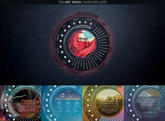 The Arc Menu Launcher Suite V.4.6.3