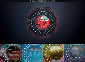 The Arc Menu Launcher Suite V.4.6 by closer2thelung