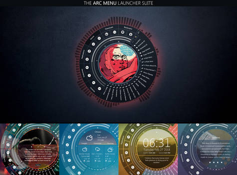 The Arc Menu Launcher Suite V.4.6.1 by closer2thelung