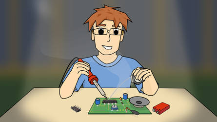 Soldering a Circuit