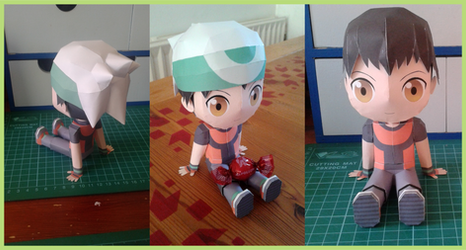 Papercraft Chibi Brendan downloadable