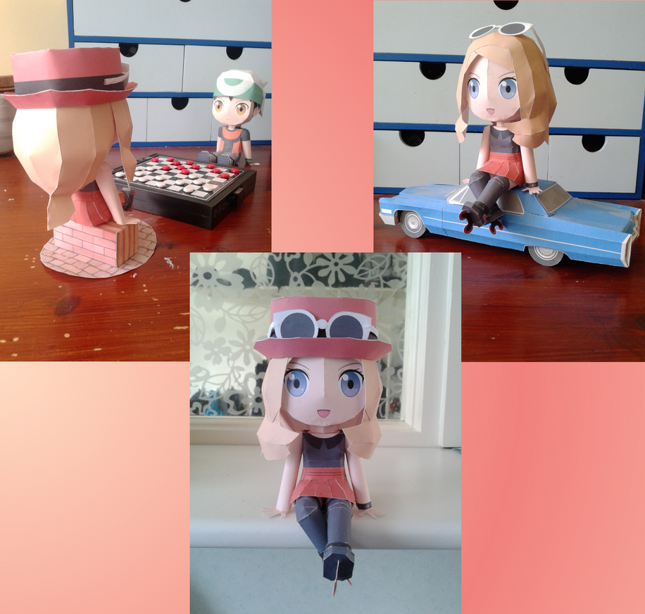 Yvonne Papercraft Template by MountainOfCookies