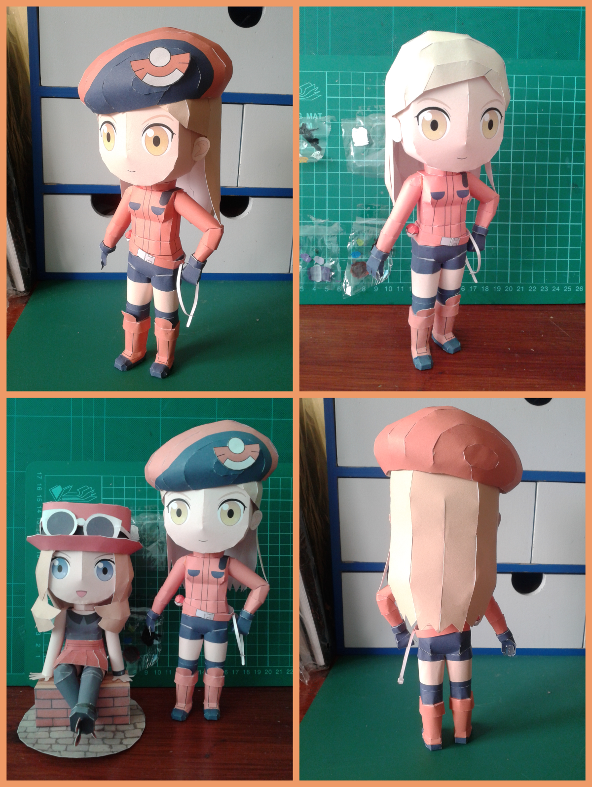 Pokemon Ranger F Papercraft