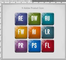 Adobe Product Icons by MurTXazI