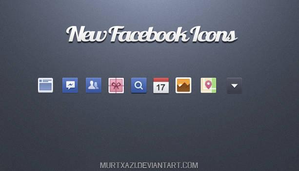 New Facebook icon