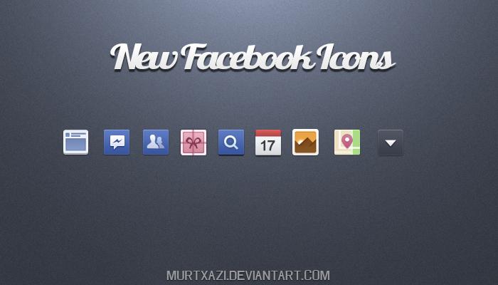 New Facebook icon by MurTXazI