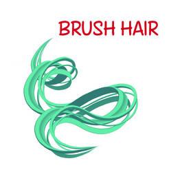 [Clip paint brush] - Hair