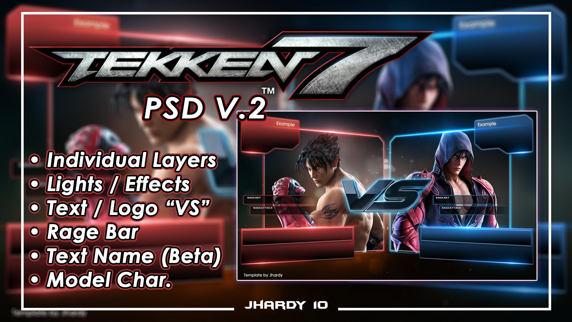 R E L Tekken 7 Screen Vs Psd Download By Jhardy2010 On Deviantart
