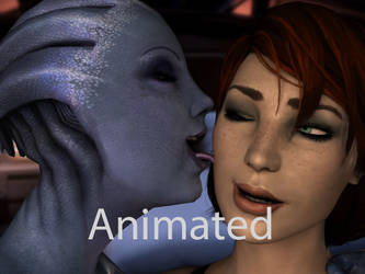 Liara lick, The retaliation! by neehs