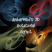 Amberwind's 3D Rotational Script