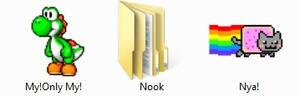 Yoshi folder icons