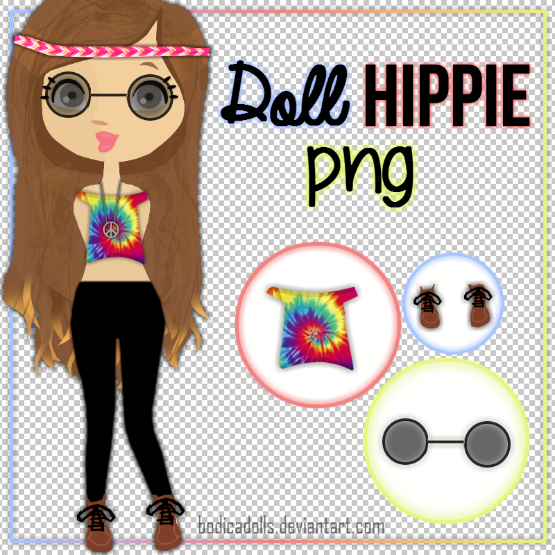 Ropa png doll hippie by bodicadolls on deviantart - Ropa de hippie ...