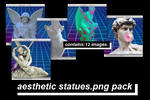 -AESTHETIC STATUES.PNG PACK-