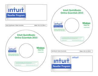 Quickbooks Online Disc CD Label Template