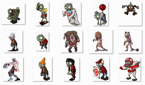Zombie Pack Screen Mates