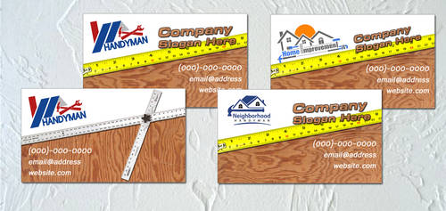 Handyman Business Card Template by 1980something